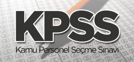 KPSS Ortaöğretim Sınav Giriş Belgeleri Yayınlandı