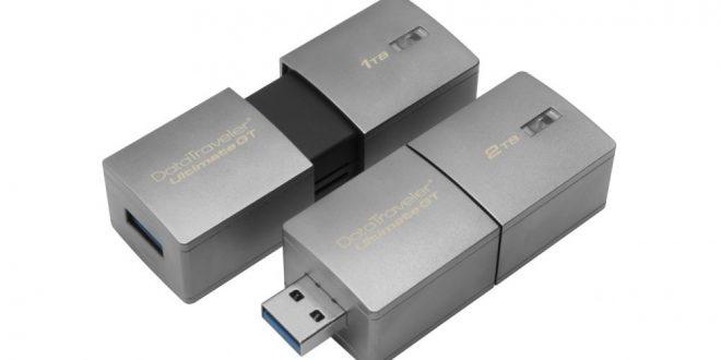 En Büyük Kapasiteye Sahip USB Bellek Üretildi